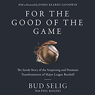 For the Good of the Game audiobook cover art