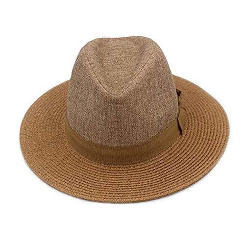 日曜日の帽子の男性のお父さんお父さんの帽子のための古典的な山高帽の帽子の平野春の秋冬ギフト(色:3、サイズ:L(59-60cm))