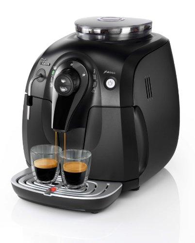 Philips Saeco HD8743/11 Kaffee-Vollautomat Xsmall (1 l, 15 bar, Dampfdüse) schwarz