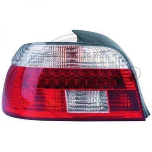 feux arrières design, rouge/blanc, LED E39, 95-00 LED rouge-blanc