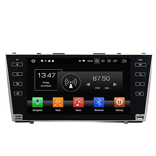 KUNFINE Android 10 Octa Core 4G Ram 32 Go de ROM Autoradio GPS La Navigation DVD Lecteur multimédia Commande au Volant Headunit Stéréo PourTOYOTA Camry 2007-2011