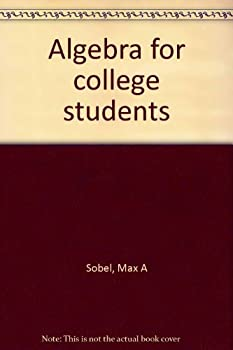 Algebra for college students 0130215767 Book Cover