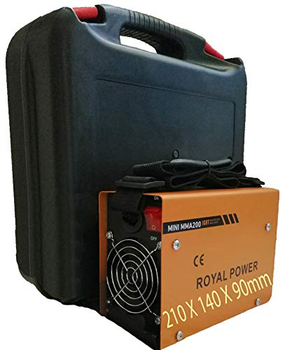 M谩quina de Soldar Soldador de Arco Port谩til Inversor IGBT Soldadora Inverter MINI MMA-200