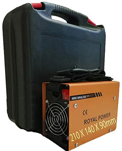 Máquina de Soldar Soldador de Arco Portátil Inversor IGBT Soldadora Inverter MINI MMA-200