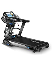 Sparnod Fitness STH-6000 3 HP (6 HP Peak) Automatic Motorized Treadmill for Home Use - Large 15.6 inches Touchscreen Display with Wifi, Massager for Fat Mobilization (Free Installation Service)