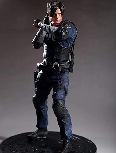 Zqcay Action Figure Model PVC Material Resident Evil Leon Scott Kennedy 1/6 Box