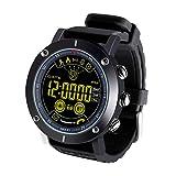 CCYOO Smart Watch Uomo IP68 Nuoto Impermeabile 610 mAh Batteria 33 Mesi Tempo di Standby Lungo Sport...