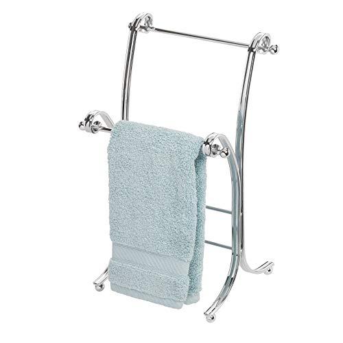 Price comparison product image iDesign York Lyra Towel Stand,  Chrome