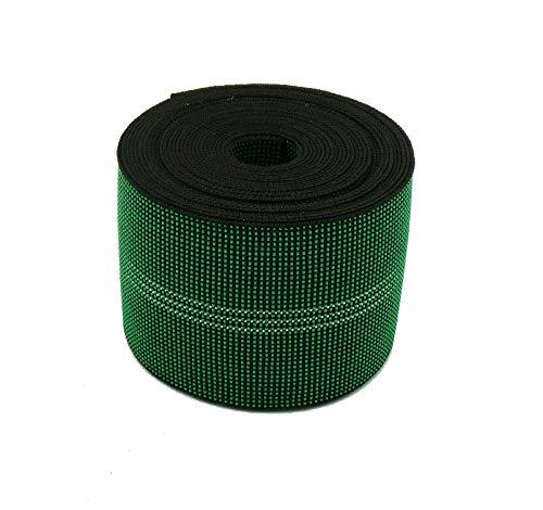 Cincha de tapicería elástica de 80 mm, correas de calidad para asientos de sofás, 3 metros