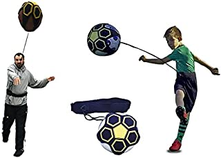 Soccer/Football Kick/Throw Trainer Solo Practice Training Aid Control Skills Adjustable Waist Belt