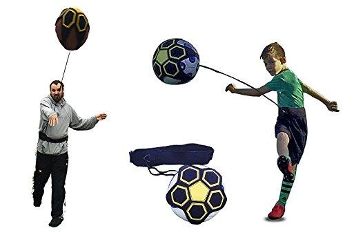 KickTHROW Soccer/Football Kick/Throw Trainer Solo Practice Training Aid Control Skills Adjustable Waist Belt