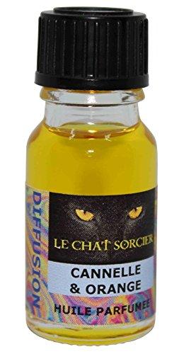 Le Chat Sorcier - Huile Parfumée - Cannelle & Orange (10ml)