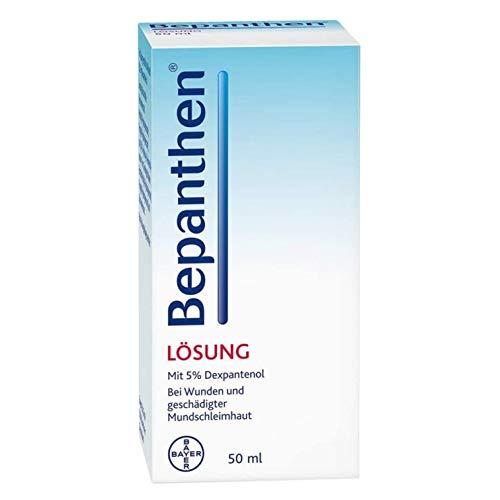 Bepanthen Lösung zur Behandlung kleiner Verletzungen der Mundschleimhaut, 50 ml, 1 Stück