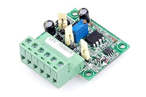 KNACRO Isolation Frequency to Voltage Conversion Module 0-200Hz to 0-5V F V Conversion Module Digital to Analog Converter Module Input Level 3.3V 5V 12V 24V Optional