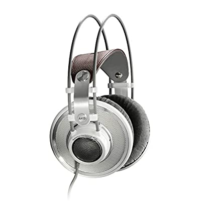 AKG K701 Open-Back, Over-Ear Premium Studio Reference Class Studio Headphones by AKG