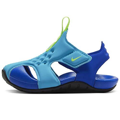 Nike Sunray Protect 2, Sandalia Unisex niños, Oracle Aqua Ghost-Hyper, 27 EU