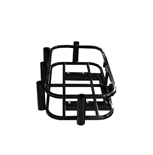 GTW Universal Hitch Mount Cooler & Rod Holder Rack