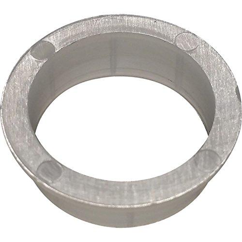 SECOTEC V105A021S045 Drückerführungen für 16 mm Ansatz Kunsstoff weiß SB-4 BL1, 4 Stück
