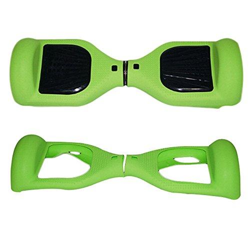Grün Silikon Schutz Scratch Hülle Haut für 6,5 Zoll Smart selbst Balancing Elektro Scooter Hoverboard