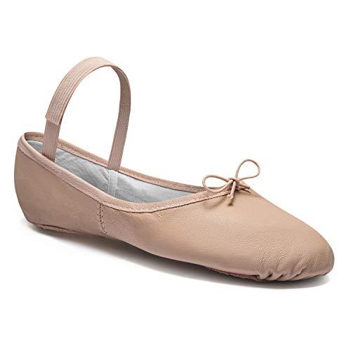 So Danca–Zapatillas de ballet de piel, calzado de baile, Mujer, hombre, niño, niña, rosé, 35,5