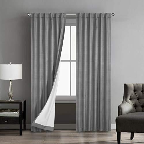 Marlee 2-Pack Room Darkening-Rod Pocket Window Panel Pair
