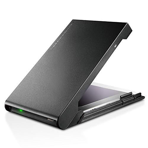 ロジテック HDD SSDケース 2.5インチ USB3.2 Gen2 Type-C ブラック LGB-PBSUC