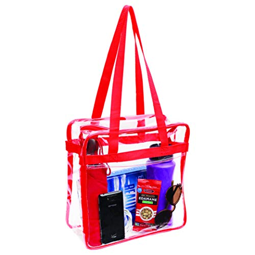 Clear Stadium Approved Tote Bag,...