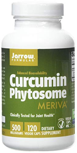 Jarrow Formulas Curcumin Phytosome (Meriva), 500mg, 120 Capsules