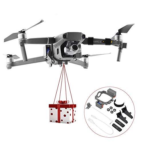 Drone Air-Dropping Thrower, Hochzeit Vorschlag Lieferung Gerät Dispenser Thrower Drone Zubehör, Air Drop Transport Geschenk für DJI Mavic 2 Pro/Zoom