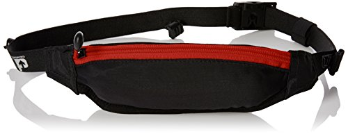 ULTIMATE PERFORMANCE Riñonera Fingal Lightweight Runners con Cierre Fidlock, Negro/Rojo