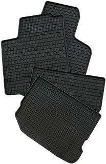 PETEX Gummimatten passend für T5 ab 05/2003 / T6 ab 06/2015 Führerhaus 3 Fußmatten schwarz 3 teilig