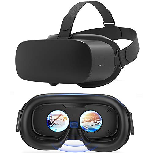 Alles-In-ééN Vr-Headset, Head-Mounted Hd 2K-Scherm 3D Virtual Reality Blauwe Bril, 8-Core Processor, Wifi Bluetooth-Ondersteuning, 2560 × 1440P