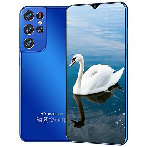 GHHYS Smartphone Desbloqueado, teléfono móvil con Tarjeta Dual Android, Pantalla Full Waterdrop de 6.7in HD, 16GB + 512GB, Regalo para Ancianos, Adultos, Principiantes
