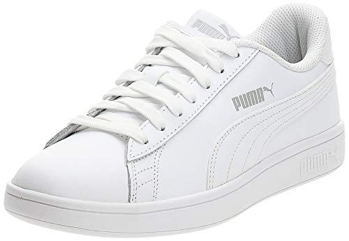 PUMA Smash V2 L, Zapatillas Unisex Adulto, Blanco White Whit