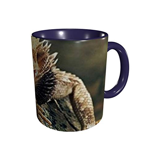 Bearded Dragon Lizards Coffe &Tea Mugs-Funny Multicolor Ceramics Cups For Multifunctional Using