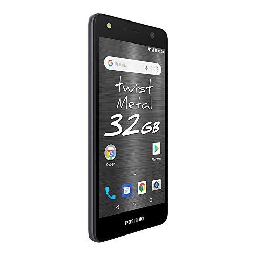 Smartphone Positivo Twist S531 32GB Tela 5.2' Câmera 8MP Android 8.0 - Cinza