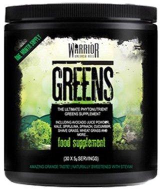 Warrior Greens Bodybuilding Entgiftung Reinigung Energie Stressregulierung Entschlakung (Orange)