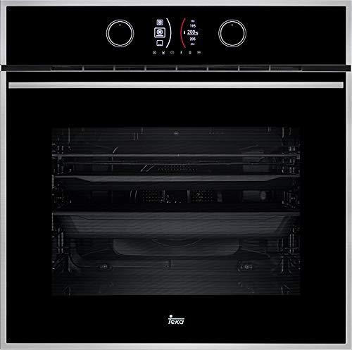 TEKA HLB 860 Einbau-Backofen, Energieklasse A+, 59,5 cm, 70 l, in Schwarz, mit 4'' digitalem Farb-Display