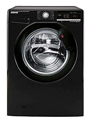 Hoover DXOA47B3 Freestanding Dynamic Next Washing Machine, NFC Connected, 7kg Load, 1400rpm, Black