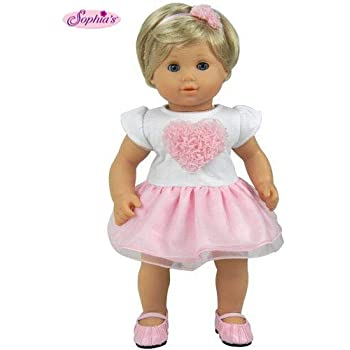 My Brittanys Pink Star Nightgown for American Girl Bitty Baby Doll-15 Inch Doll Clothes