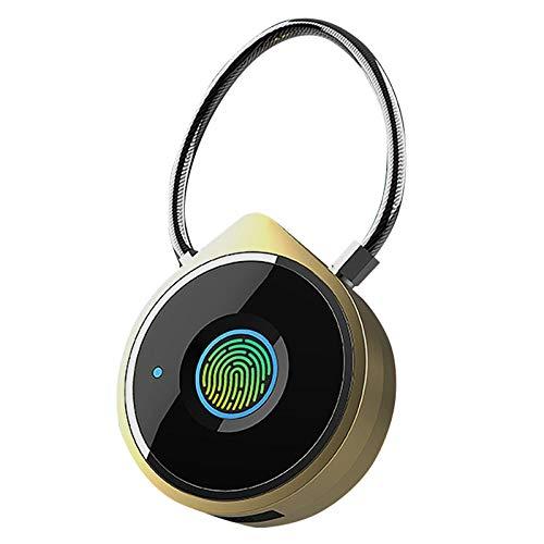 Fingerprint Padlock Smart Bluetooth Security Lock is Suitable for Door, Suitcase, Backpack, Gym, Bicycle