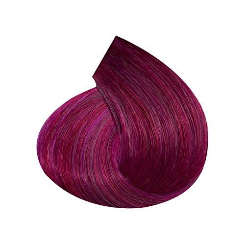 Crème de couleur permanente pour cheveux avec graines de lin et aloe vera 100 ml INEBRYA (7,22 blond violet profond)