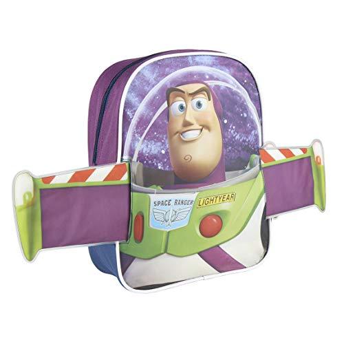 Artesania Cerda Personaje Toy Story Buzz Lightyear  Mochila Infantil  31 cm  Azul