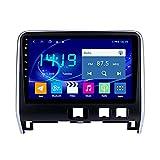 yanzz Radio de Coche estéreo para Nissan Serena 2016-2018 en el Tablero Navegador GPS de 9 Pulgadas Unidad Principal Soporte USB SD Dab RDS Video Bluetooth SWC 4GB + 64GB