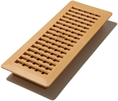 Decor Grates 4-Inch by 12-Inch Plastic Floor Register
