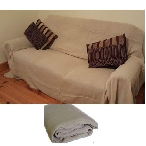 Silverline Waterproof Decorators Cotton Dust Sheet Cover Painters Dustsheet