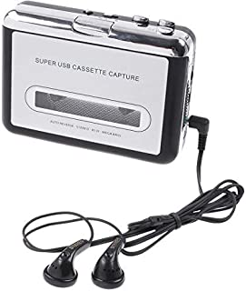 Tape to PC USB Cassette-to-MP3 Converter Capture Audio Music Player,V345
