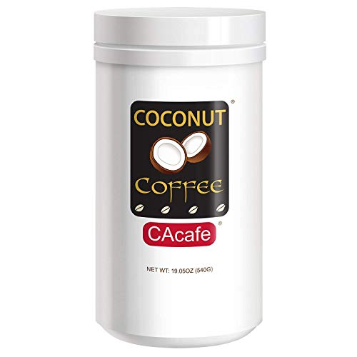 CAcafe This is a You Can't Miss, Made from Coconut & Colombian Coffee, 19.05 Ounces