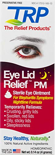 Eye Lid Relief PM Ointment for Blepharitis and Irritation