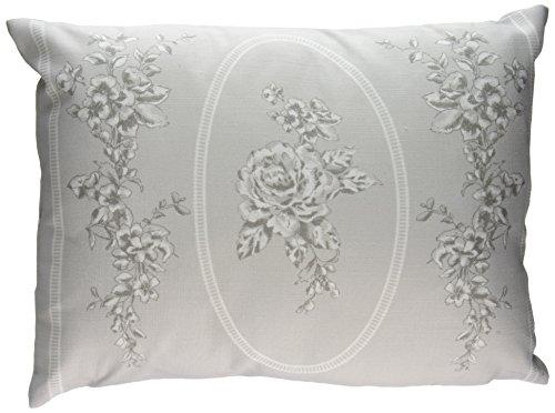 Dreams n Drapes Set de edredón Reversible, Pizarra, 38x28 cm Filled Cushion